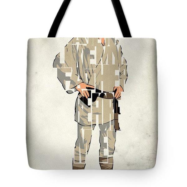 Luke Skywalker - Mark Hamill  Tote Bag