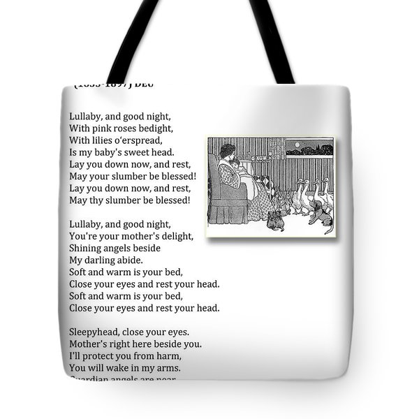 Lullaby And Good Night Tote Bag