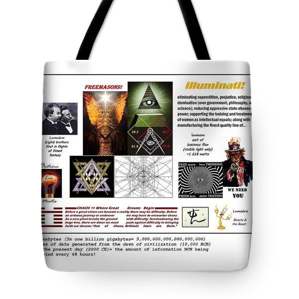 Illumen8ing Tote Bag
