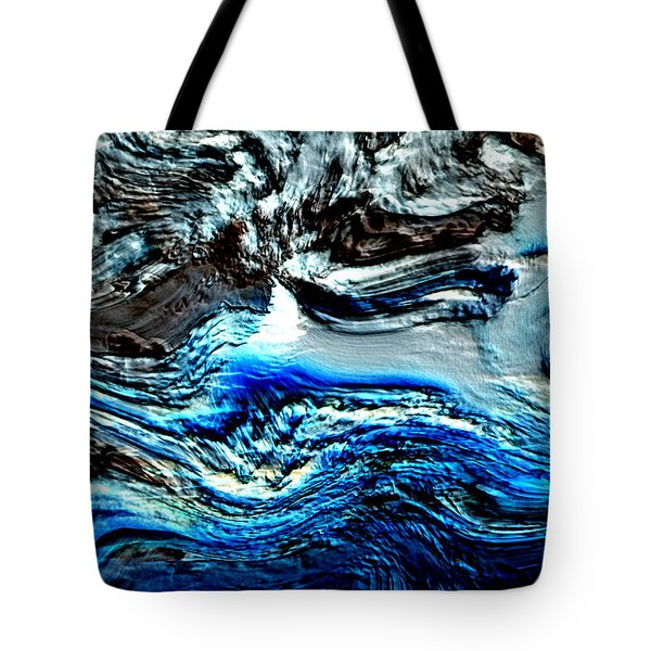 Tote Bag featuring the digital art Lumenittoral by Richard Thomas