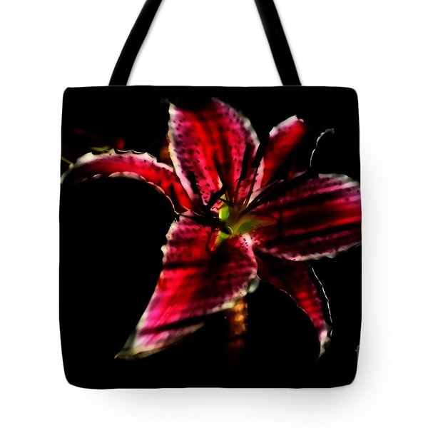 Tote Bag featuring the photograph Luminet Darkness by Jessica Shelton