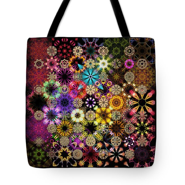 Luminiscent Kaleidoctogarden Tote Bag