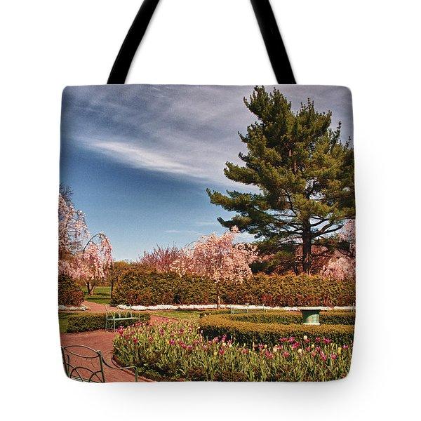 Luminous Colors Of Spring Tote Bag