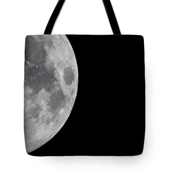 Luna And Jupiter Tote Bag by Jason Politte