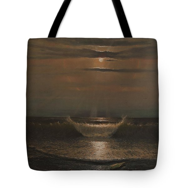 Lunar Apparition Tote Bag by Blue Sky