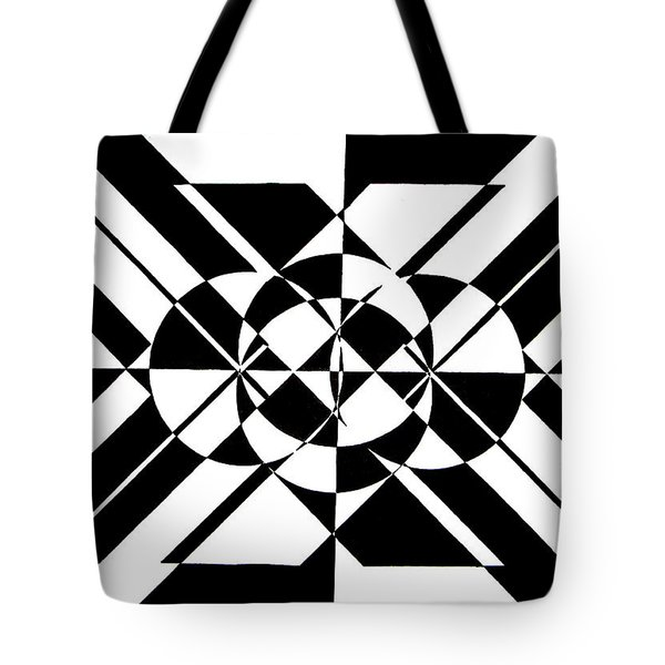 Lunar City Tote Bag