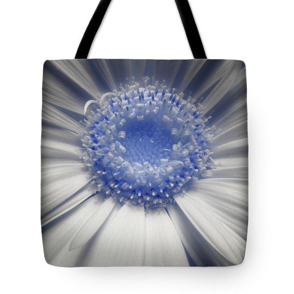 Lunar Daisy Tote Bag