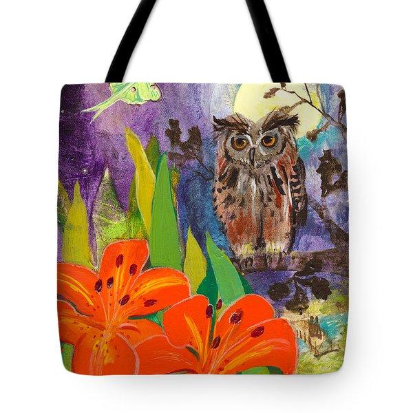 Lunar Enchantment Tote Bag by Robin Maria Pedrero