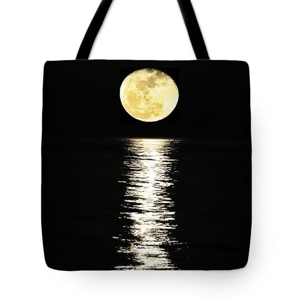 Lunar Lane Tote Bag