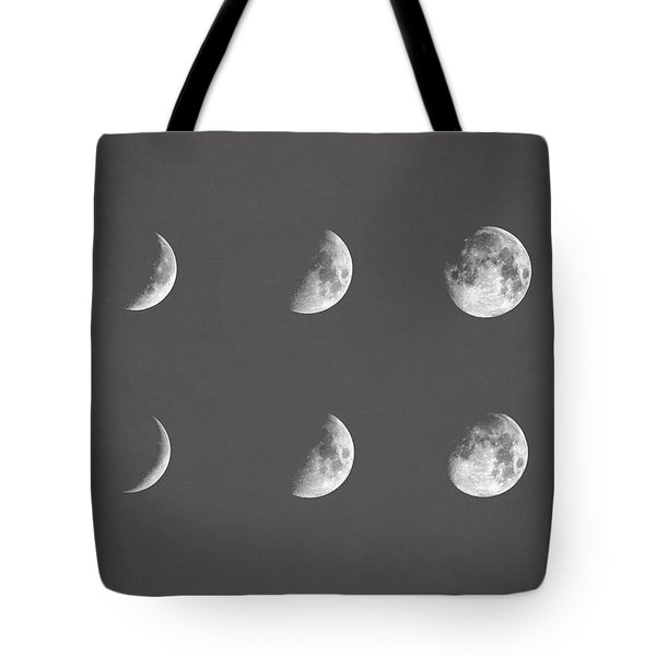 Lunar Phases Tote Bag