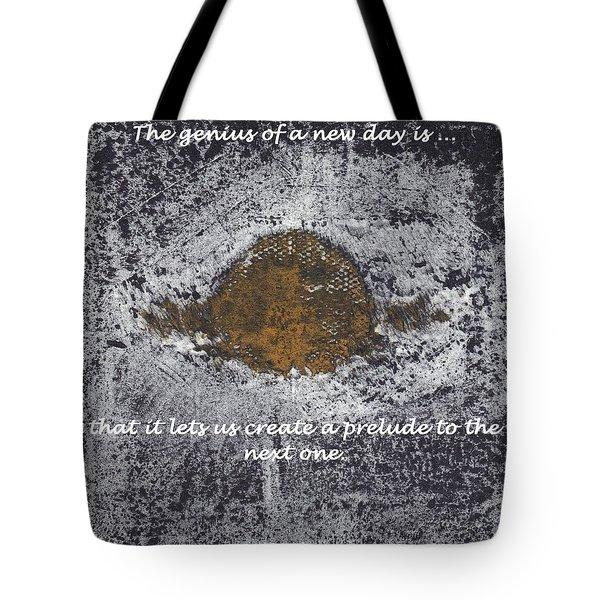 Tote Bag featuring the digital art Lunar Sun by Lesley Fletcher