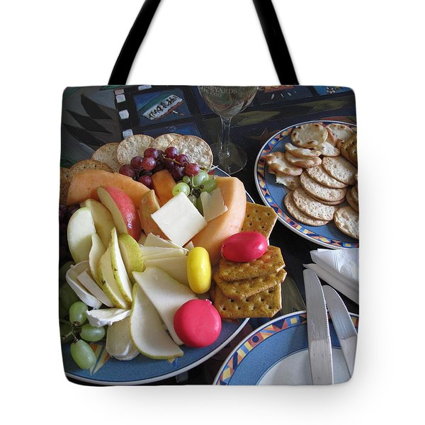 Lunch Tote Bag by Barbara McDevitt