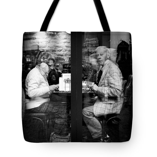 Lunch Tote Bag by Dave Bowman