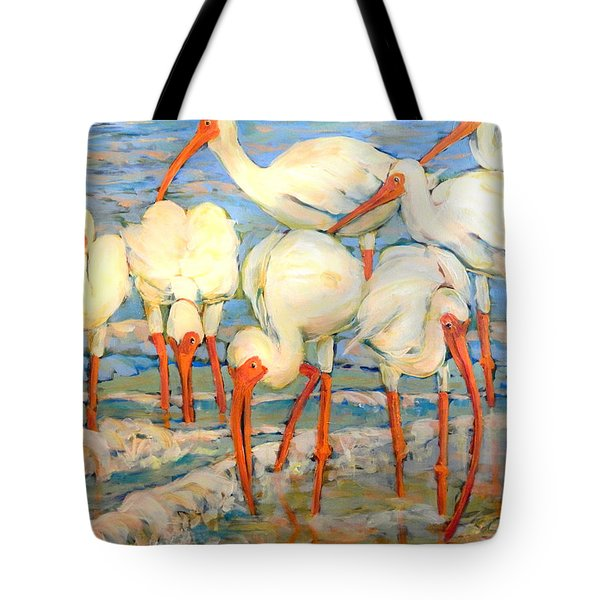 Lunch On The Beach With Friends  Tote Bag