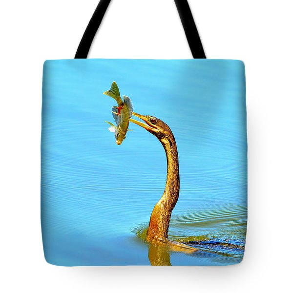 Lunch On The Spear Tote Bag