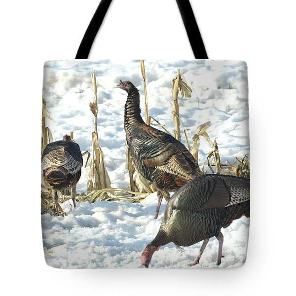 Tote Bag featuring the photograph Lunch Time by Dacia Doroff