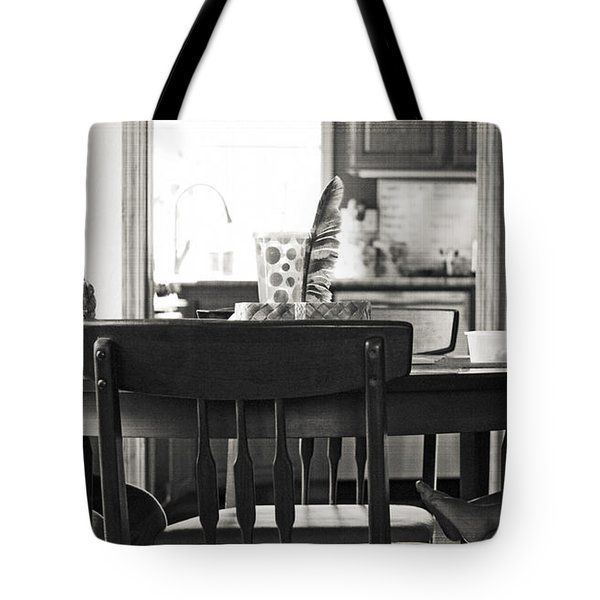 Lunch Together Tote Bag by Gwyn Newcombe