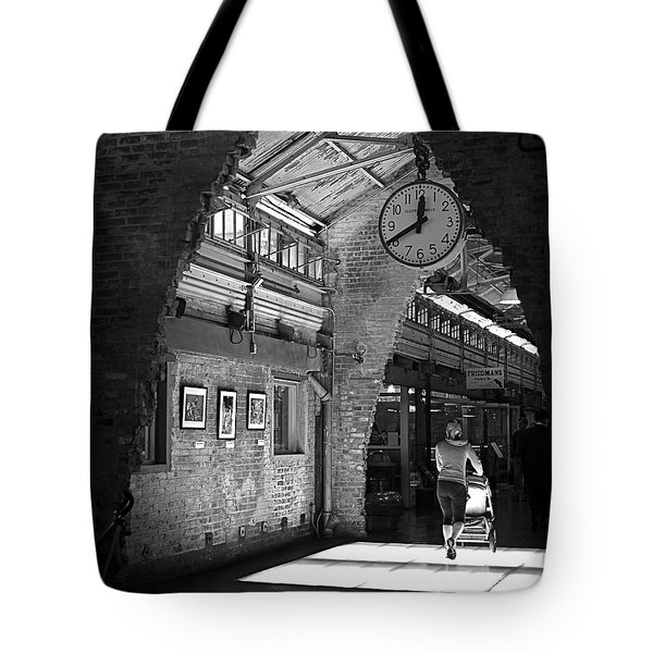 Lunchtime At Chelsea Market Tote Bag