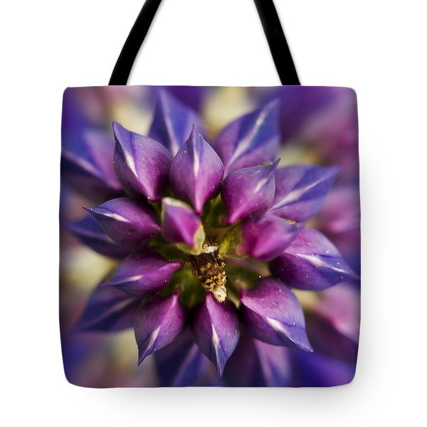 Lupine Kaleidoscope Tote Bag