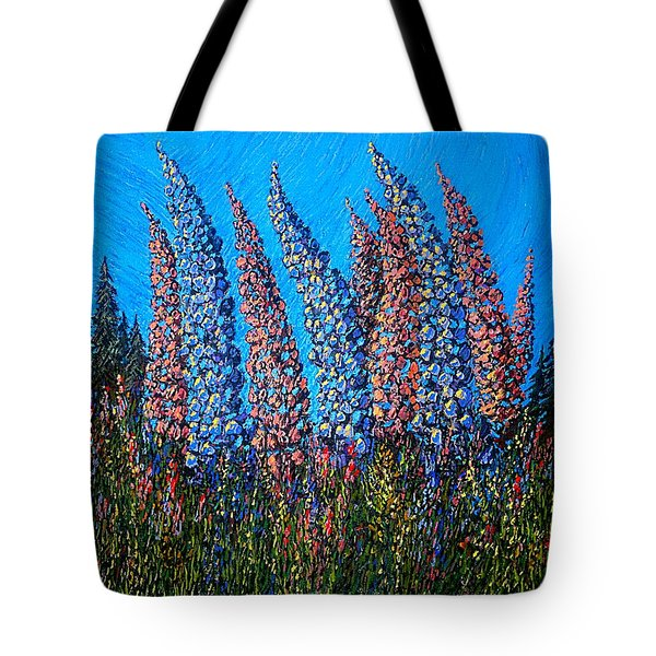 Lupins - Study No. 1 Tote Bag