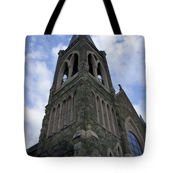 Tote Bag featuring the photograph Luray Chapel by Laurie Perry