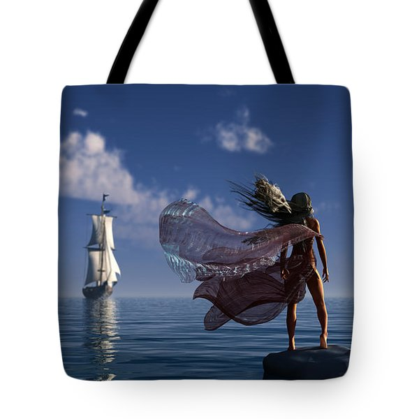Lure Of The Siren... Tote Bag by Tim Fillingim