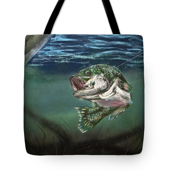 Lured In Tote Bag