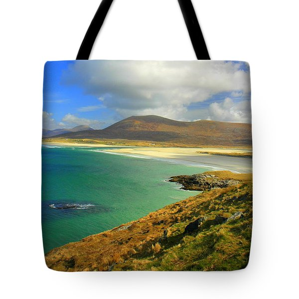 Luskentyre Beach  Tote Bag by The Creative Minds Art and Photography