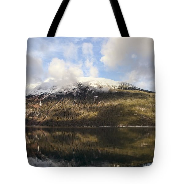 Lutak Inlet Reflections Tote Bag