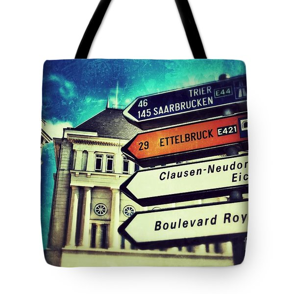 Luxembourg City Tote Bag