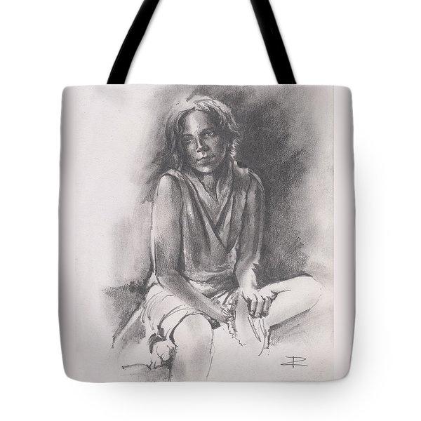 Lydia Sketch Tote Bag