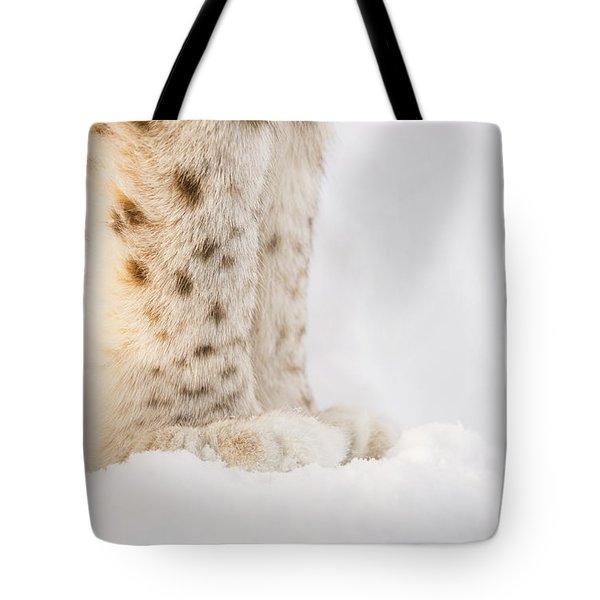 Lynx Feet Tote Bag