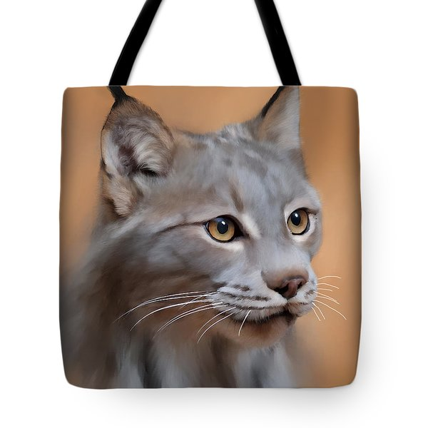 Lynx Portrait Tote Bag