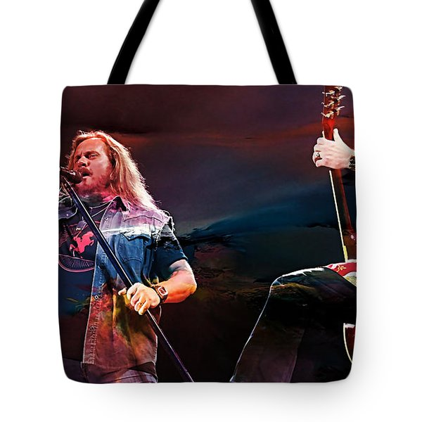 Lynyrd Skynyrd Tote Bag