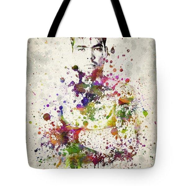 Lyoto Machida Tote Bag by Aged Pixel