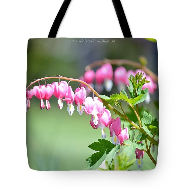 Lyre Flower  Tote Bag by Sonali Gangane