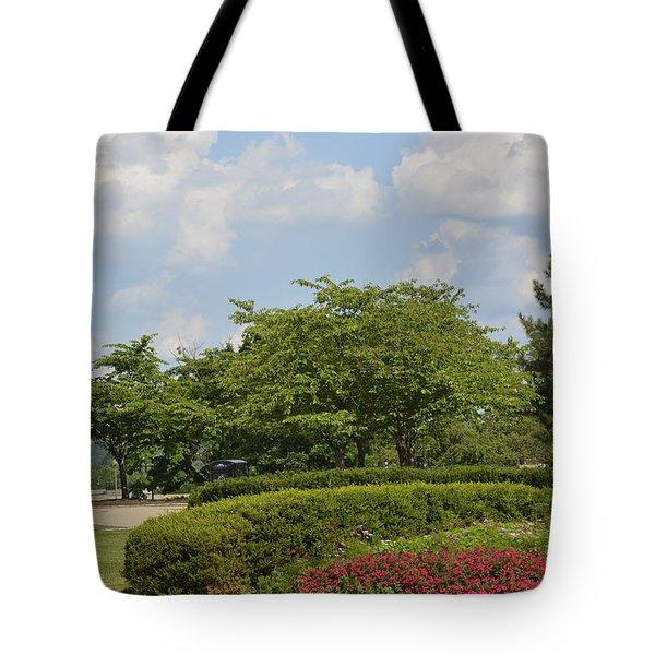 Lytle Park Cincinnati Tote Bag