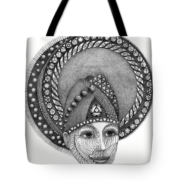 Tote Bag featuring the drawing . by James Lanigan Thompson MFA