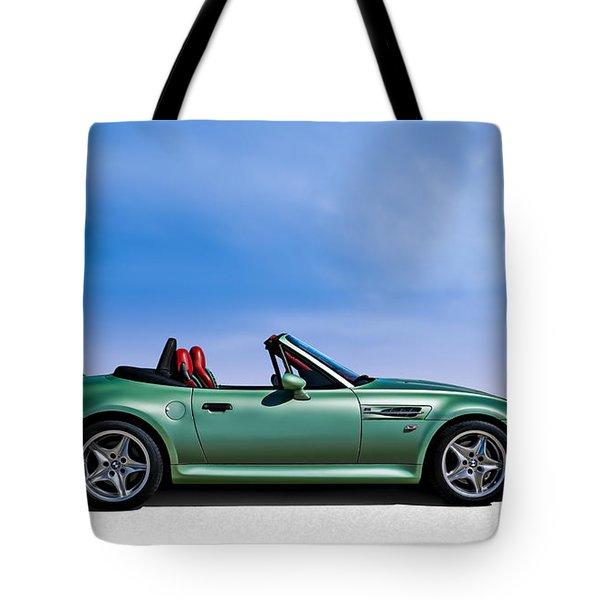 M Topless Tote Bag by Douglas Pittman