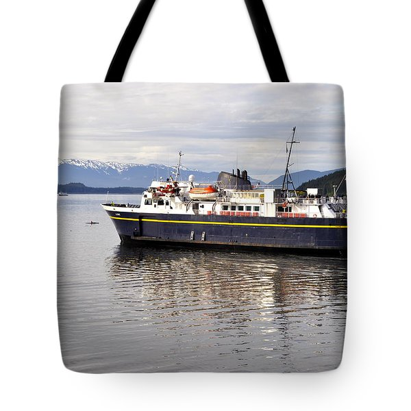 Tote Bag featuring the photograph M/v Leconte by Cathy Mahnke