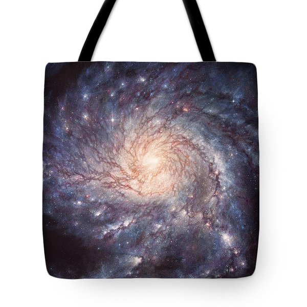 M101 Pinwheel Galaxy Tote Bag