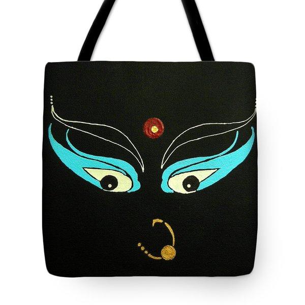 Maa Kali II Tote Bag by Kruti Shah