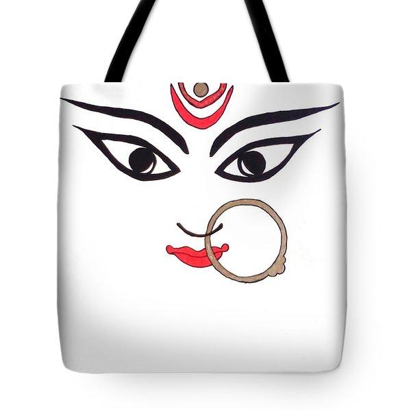 Maa Kali Tote Bag by Kruti Shah