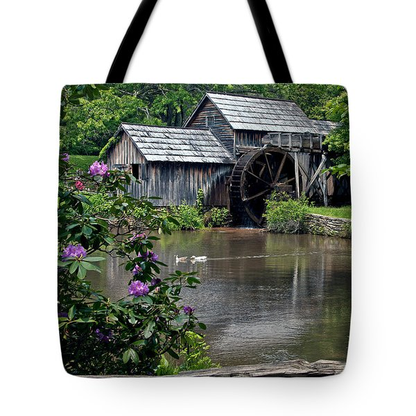 Mabry Mill In May Tote Bag