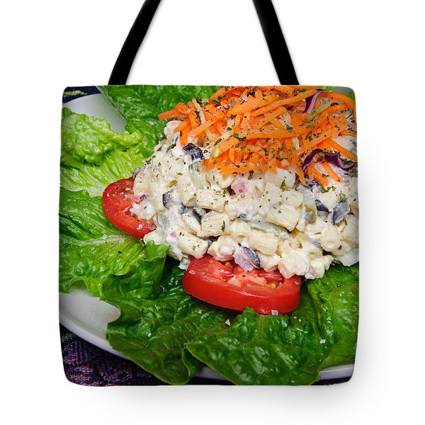 Macaroni Salad 2 Tote Bag by Andee Design