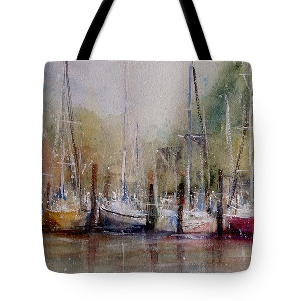 Macatawa Morning Tote Bag