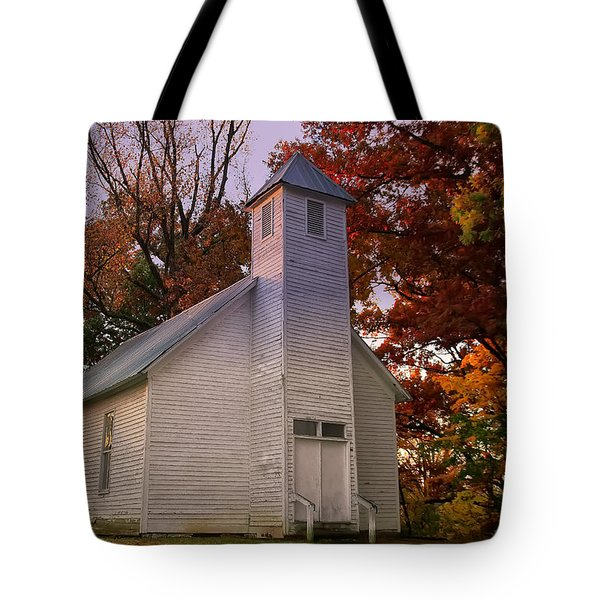 Macedonia Missionary Baptist Church Tote Bag by Chris Flees