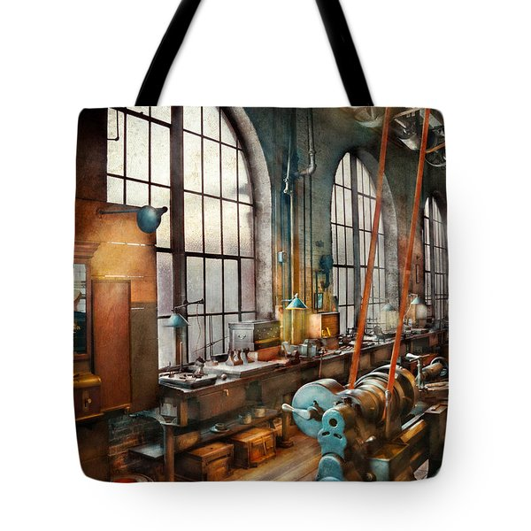 Machinist - Back In The Days Of Yesterday Tote Bag