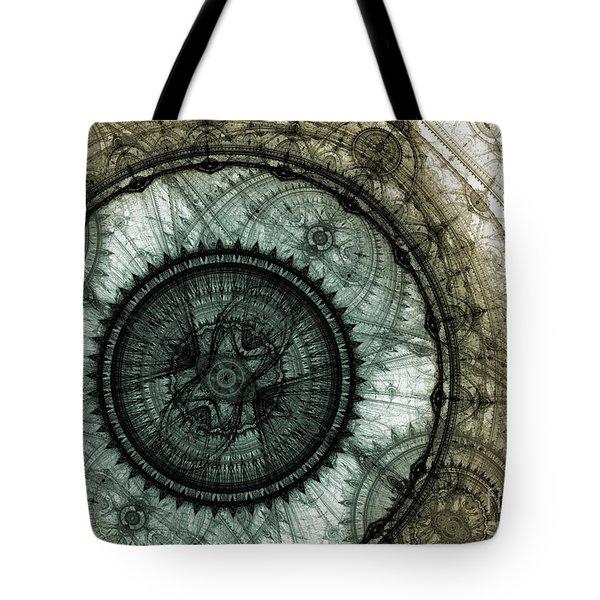 Machinist's Dream Tote Bag by Martin Capek