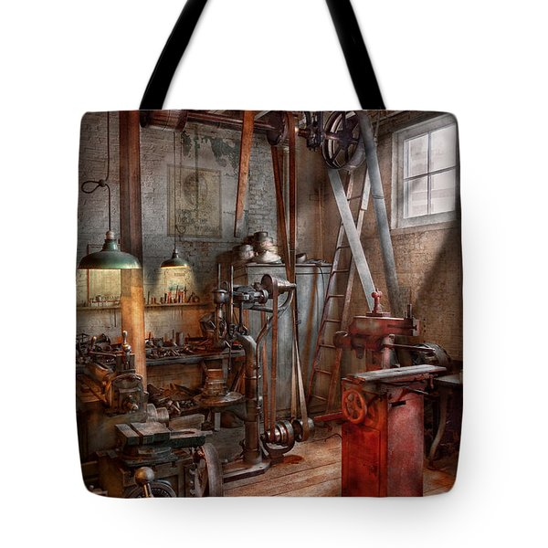 Machinist - The Modern Workshop  Tote Bag